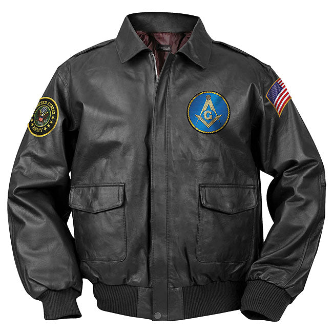 Masonic Bomber Jacket