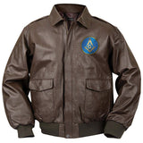 Mason Bomber Jacket (Brown)