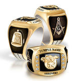 Shrine Birthstone Rings