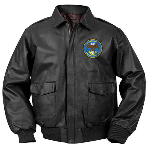 Scottish Rite Bomber Jacket (Black)