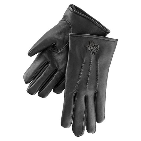 Texas Mason Lambskin Gloves (Black only)