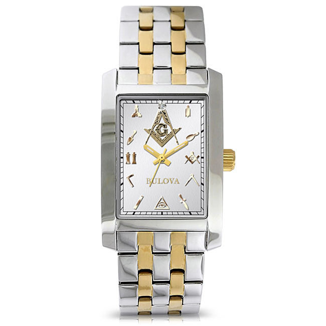 Texas Masonic & Past Master Diamond Watches