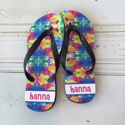 Personalized Flip Flops - Kids AND Adults!