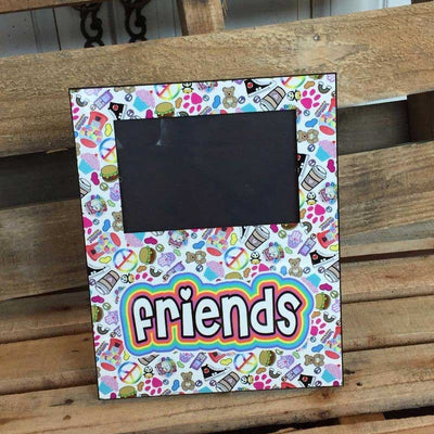 Personalized Camp Picture Frame