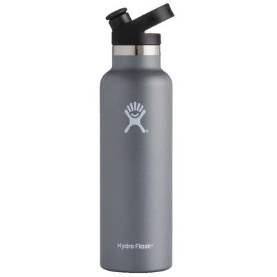 Hydro Flask 21 oz. Standard Mouth with Sport Cap - Graphite