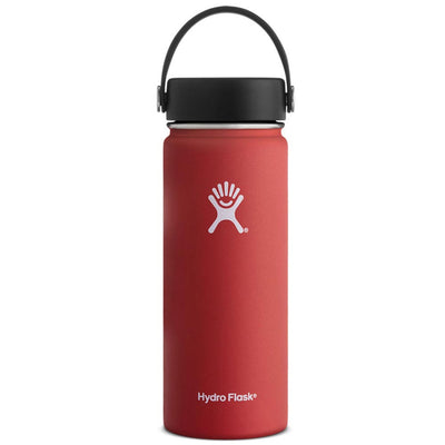 Hydro Flask 18 oz Wide Mouth Water Bottle w/ Flex Cap - Lava