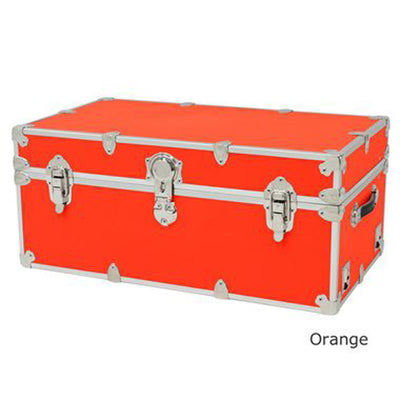 "Rhino Sticker Camp & College Trunk with Wheels & Tray - X-Large (34"" L X 20"" W X 15"" H)"