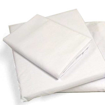 Percale Cot 4 Piece Camp Sheet Set