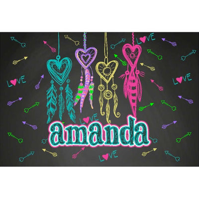 Personalized Camp Floormat (18 x 30 in)