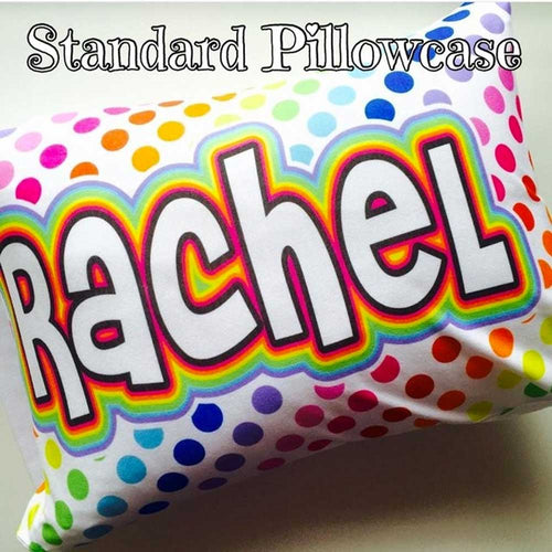 Personalized Standard Pillowcase (24 in x 30 in)