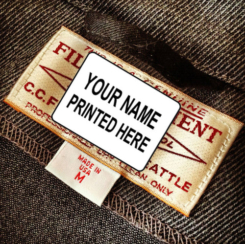Stick-N-Go NO-IRON Personalized Clothing Labels