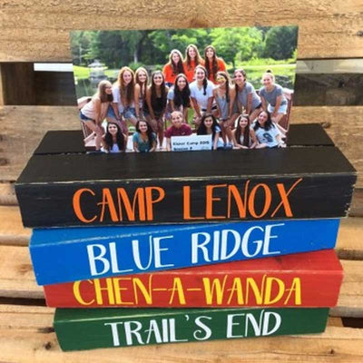 Personalized Camp Frame Blocks