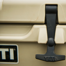 YETI Cooler tight shot of latch