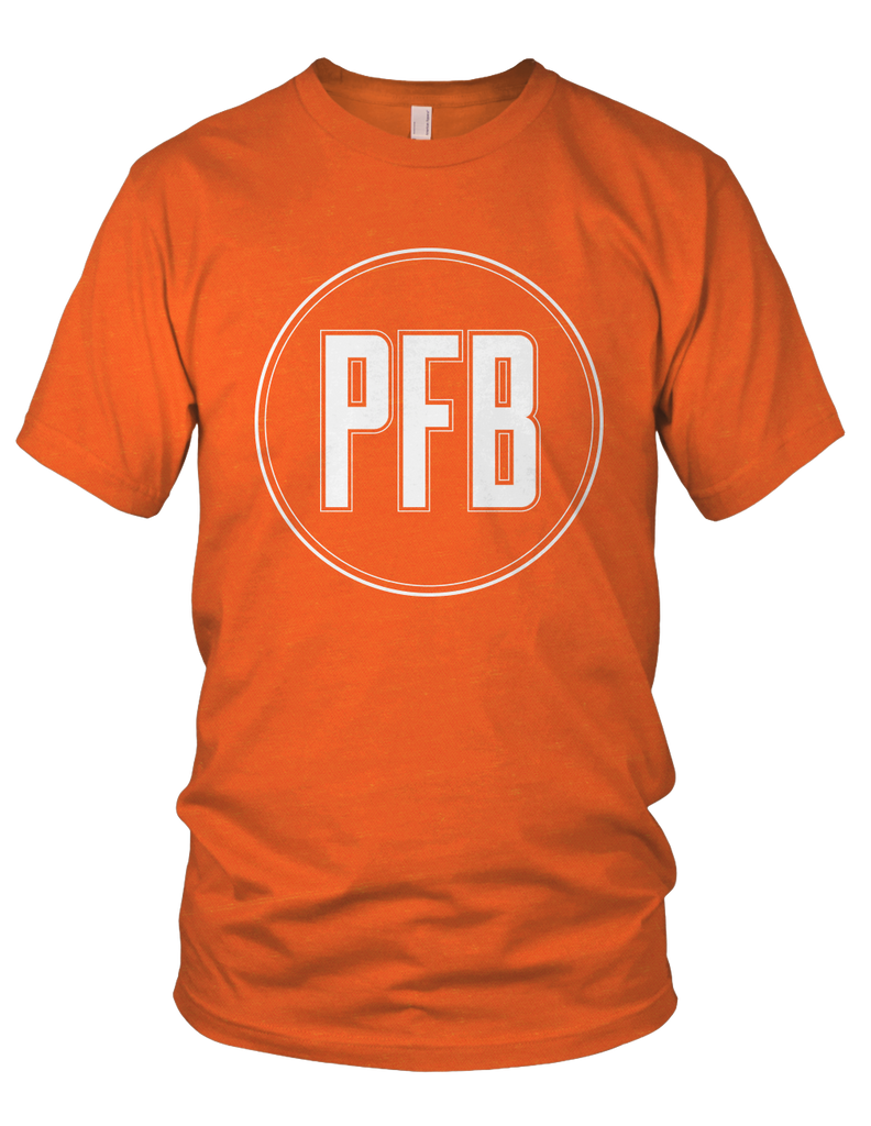 Minimalist PFB Logo Shirt (OSU Orange)