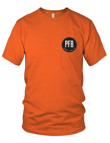 PFB Small Logo Shirt (OSU Orange)