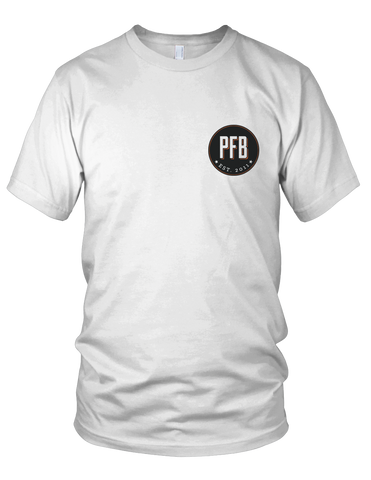 PFB Small Logo Shirt (White)