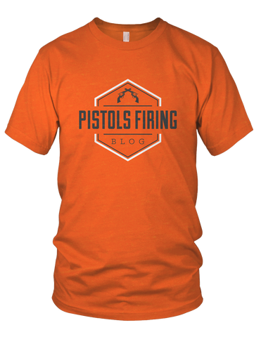 Pistols Firing Logo Shirt (OSU Orange)