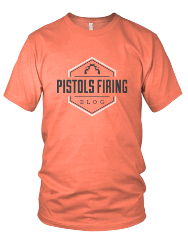 Pistols Firing Logo Shirt (Light Orange)