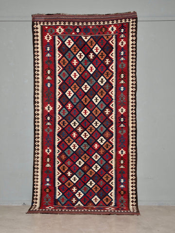 Antique Kilim Rug <br>'Little Collins'<br>from 1940