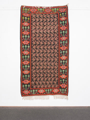 Antique Kilim Rug <br>'Sey'