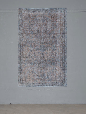 Vintage Rug <br> 'Parting Glances #614'