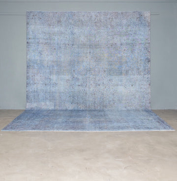 Vintage Rug <br> 'Top of the Rock #596'
