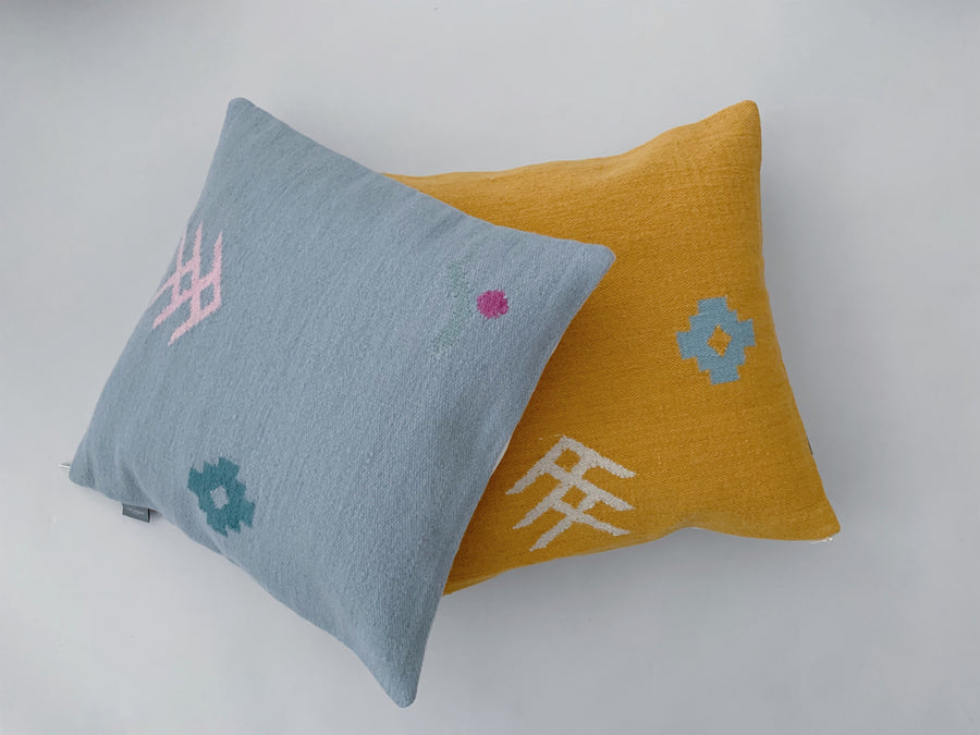 THE KNOTS x anne. <br> Cushion Cover 'Sky'