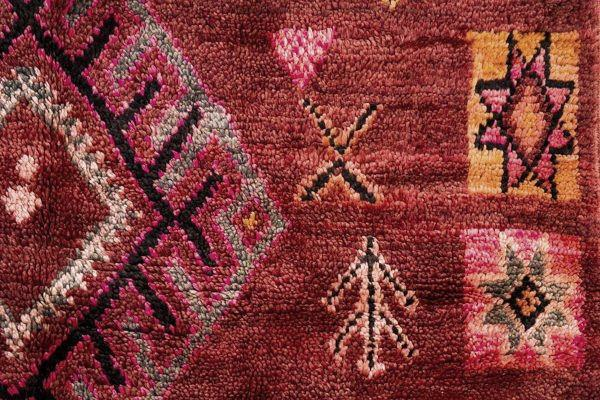 Berber Teppich Muster Detail