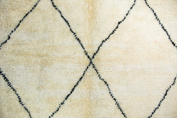 THE KNOTS - Beni Ouarain Berber Teppich - handgemacht - Carpet - Rug - handmade - Moroccan - tribal - diamond - pattern - muster