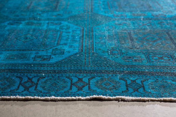 THE KNOTS - Vintage Teppich - handgemacht - Carpet - Rug - handmade - Anatolia - pattern - muster - wool - wolle - overdyed
