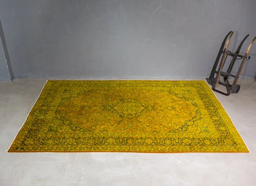 THE KNOTS - Vintage Teppich - handgemacht - Carpet - Rug - handmade - Persian - pattern - muster - wool - wolle - overdyed