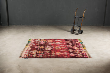 THE KNOTS - Berber Teppich - handgemacht - Carpet - Rug - handmade - Moroccan - tribal - diamond - pattern - muster