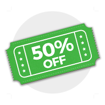 6th order - 50% off