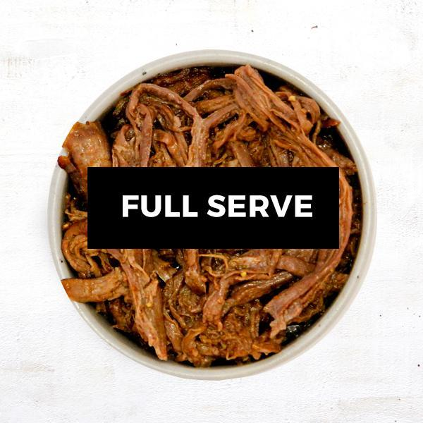 Pulled Beef - Full Serve
