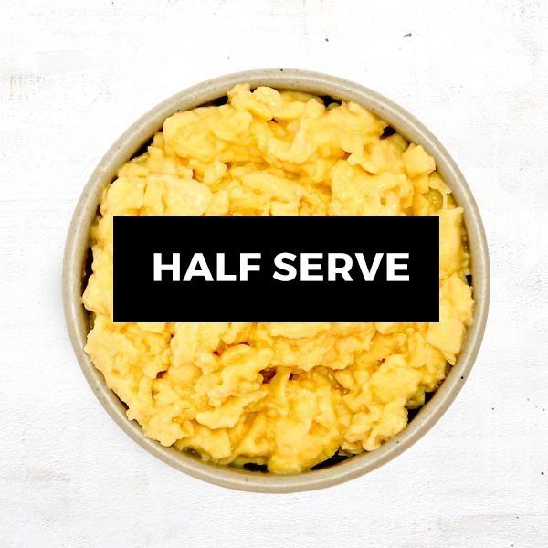 Scrambled Eggs - Half Serve