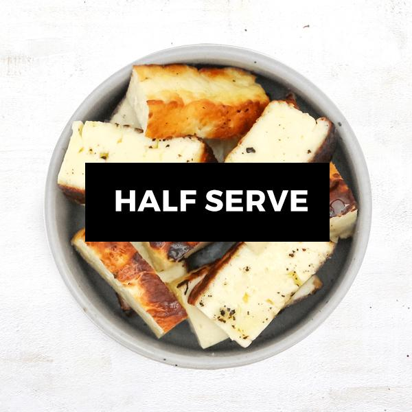 Grilled Halloumi - Half Serve