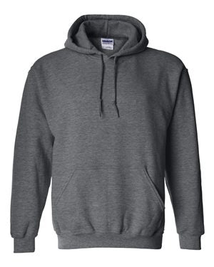 Reign Spangled Dark Heather Adult Hooded Sweatshirt