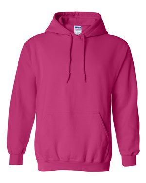 Pink Hooded Sweatshirt (Adult) + (Custom Back)