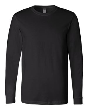 Allegro Spangle Black Long Sleeve Tee