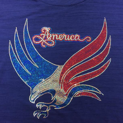 America Eagle - Fourth of July Tee
