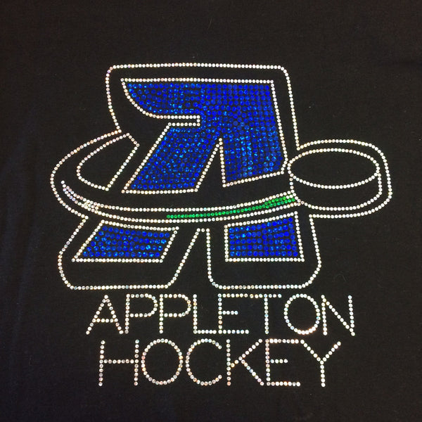 AAHA or Appleton Hockey YOUTH Spangled Logo Hoodies