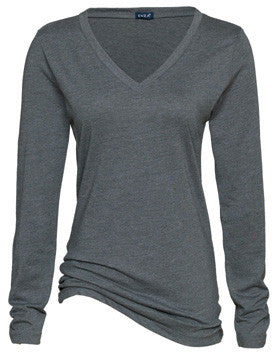 WCYHA Spangled Long Sleeve V-neck Tee
