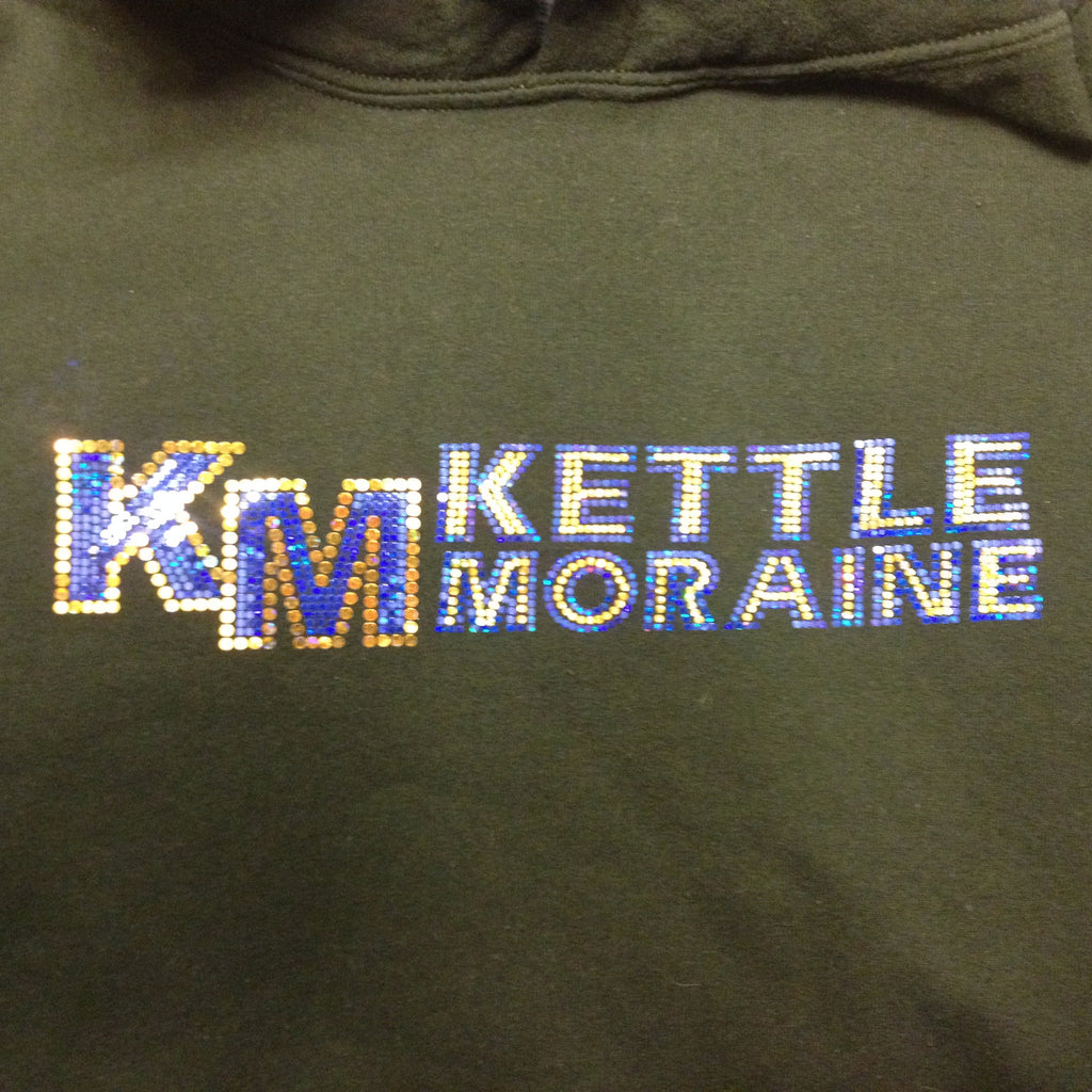 KM Kettle Moraine - Blue or Black Hoodie
