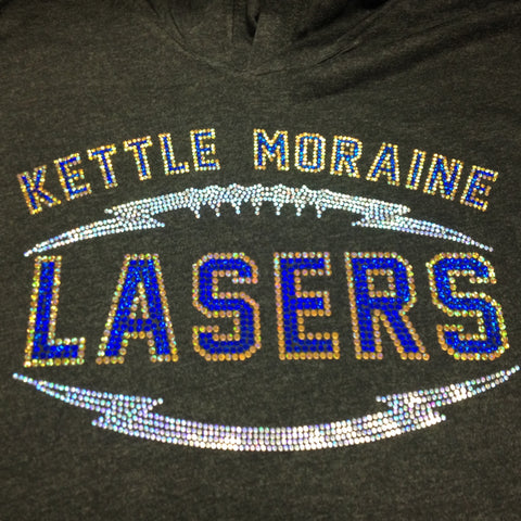 Kettle Moraine Football Spangle