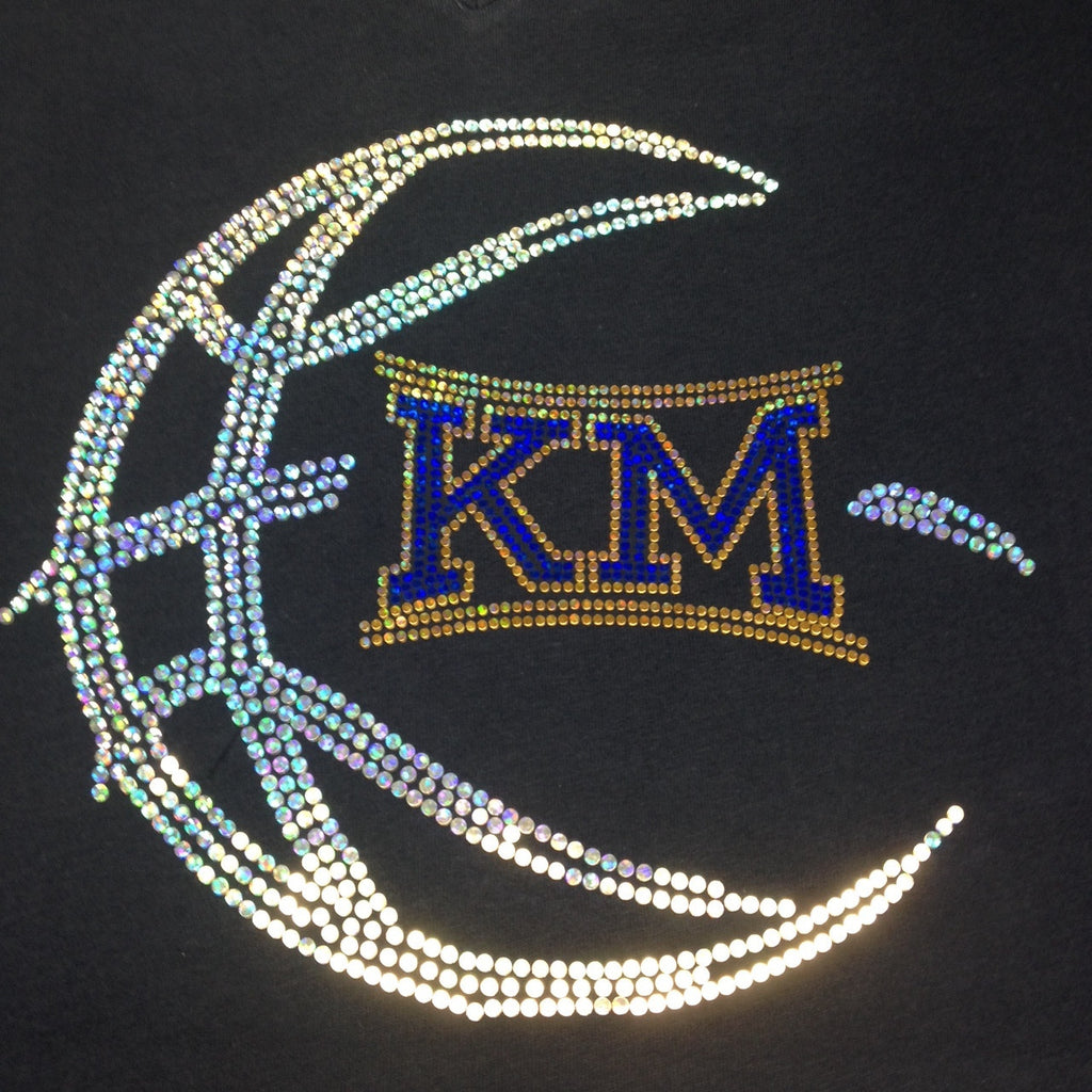 Kettle Moraine Basketball Spangle Hoodie