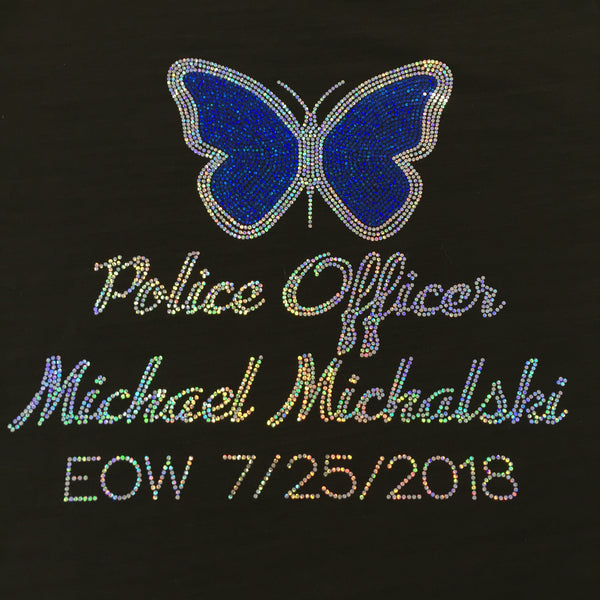 Officer Michael Michalski Spangle Hoodie