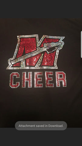 MYF Cheer Woman's Crew Neck
