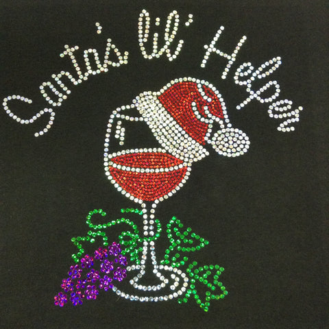 Santa's lil' Helper V-neck T-shirt