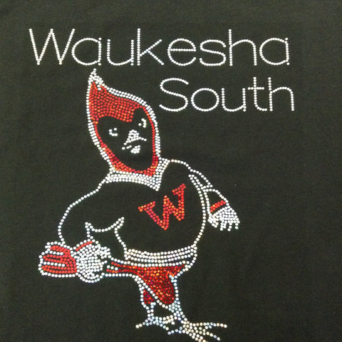 Waukesha South Blackshirt Hoodie