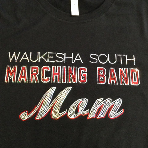 Waukesha South Marching Band Mom Long Sleeve Shirt